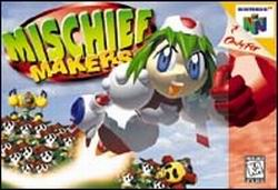 Mischief Makers (USA) Box Scan